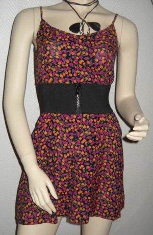 H&M Jumpsuit Blumen Blümchen Hosenkleid Kleid Vintage Flowers XS S M 34 36 38