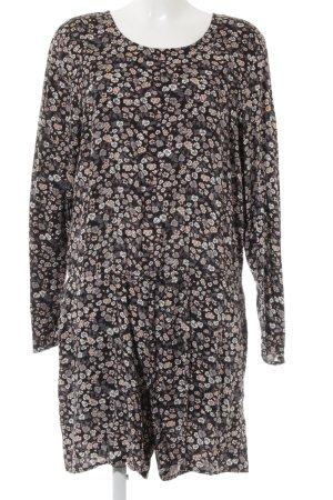 H&M Jumpsuit Blumenmuster Casual-Look