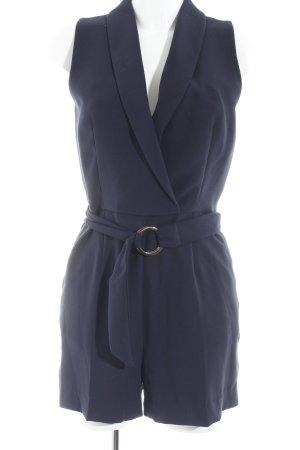 H&M Jumpsuit dunkelblau Party-Look