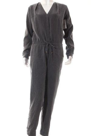 H&M Jumpsuit dunkelgrau Street-Fashion-Look