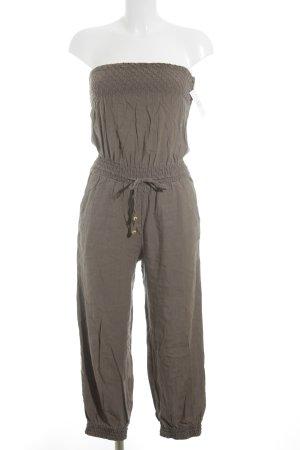 H&M Jumpsuit graubraun Casual-Look