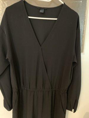 H&M jumpsuit playsuit Einteiler Overall schwarz 42 Xl L 44