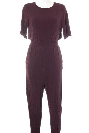 H&M Jumpsuit purpur Elegant