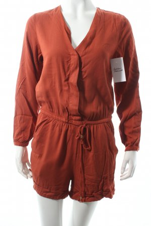 H&M Jumpsuit rostrot Casual-Look