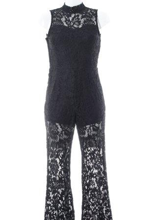 H&M Jumpsuit schwarz 90ies-Stil