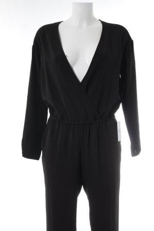 H&M Jumpsuit schwarz Business-Look