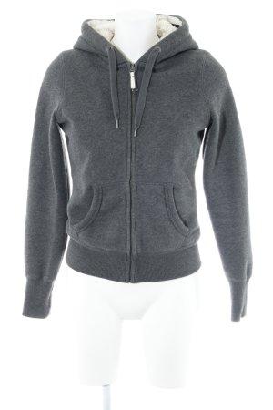 H&M Kapuzenjacke grau Casual-Look