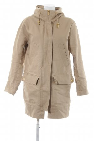 H&M Hooded Coat beige-gold-colored casual look
