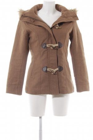H&M Hooded Coat light brown casual look