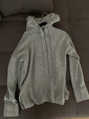 H&M Jersey con capucha gris