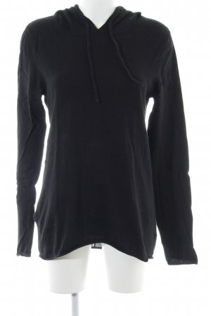 H&M Kapuzenpullover schwarz Casual-Look