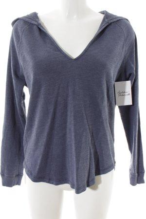 H&M Kapuzenpullover graublau sportlicher Stil
