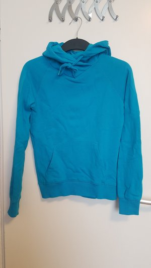 H&M Hooded Shirt baby blue