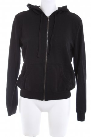 H&M Hooded Sweatshirt black casual look