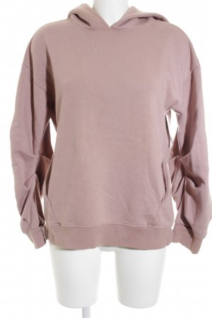 H&M Kapuzensweatshirt altrosa Casual-Look