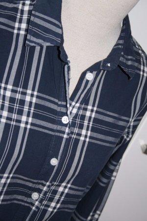 H&M Karo Bluse Hemd Gr 38 wie neu