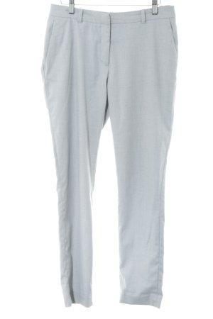 H&M Pantalón de pinza alto gris claro estilo «business»