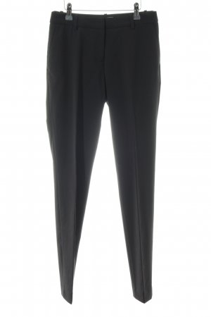 H&M Peg Top Trousers black business style