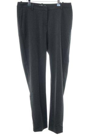 H&M Pantalón de pinza alto negro estilo «business»