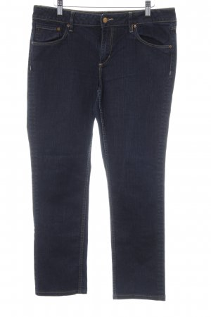 H&M Carrot Jeans dark blue jeans look