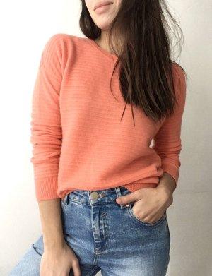 H&M Cashmere Jumper orange cashmere