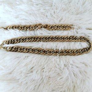 H&M Chaîne en or bronze