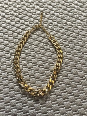 H&M Kette in Gold Panzerkette