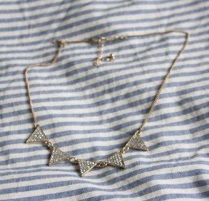 H&M Kette mit besetzten Dreiecken