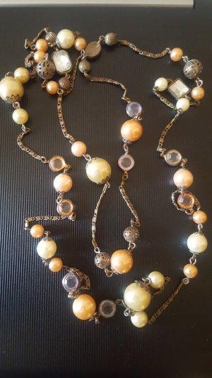 H&M Kette mit Perlen, lang, elegant, Modeschmuck