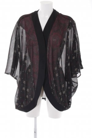 H&M Kimono abstract pattern simple style
