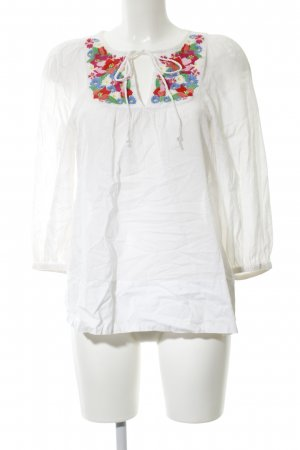 H&M Kimono Blouse flower pattern casual look