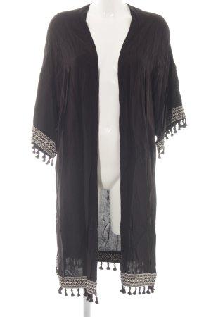 H&M Kimono nero stile stravagante