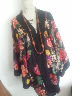 H&M Kimono blouse zwart