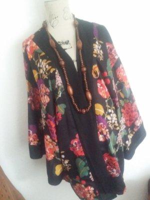 H&M Chemisier kimono noir