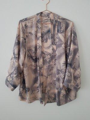 h&m Kimono rosa/grau S/M Palmen Jacke Blazer asos &otherstories
