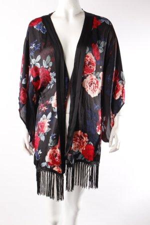 H&M Kimono Rosenmuster