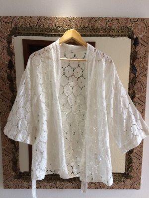 H&M Kimono weiß ungetragen