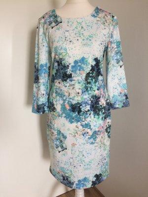 H&M Kleid 38 M neu geblümt Blumen Flower Muster Abendkleid Sommer Frühling
