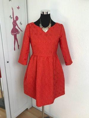 H&M Babydoll-jurk zalm