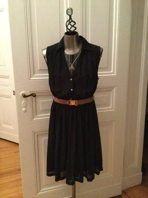 H&M Kleid black Gr. 44