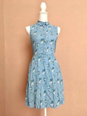 Kleid blau h&m