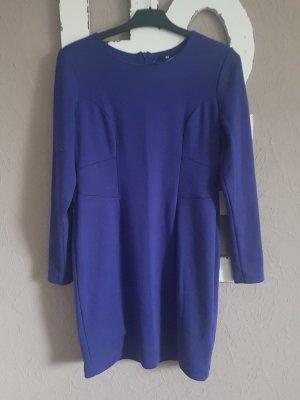 H&M Kleid blau lila Gr.M