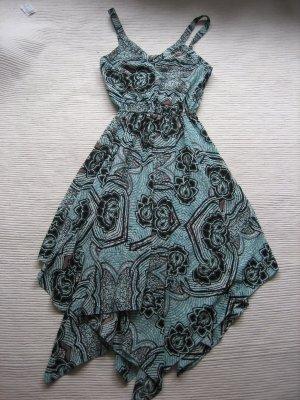 H&M kleid blau sommer kleid neuwertig gr. xs 34