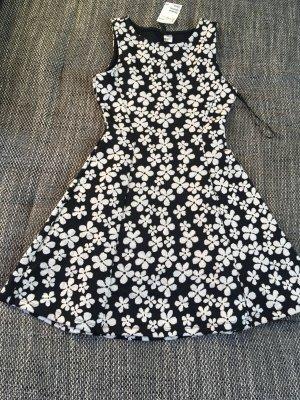 H&M Dress blue-white