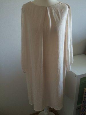 H&M Kleid creme weiß nude neu 38 M Kleid Weihnachten Silvester Abendkleid