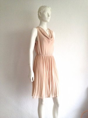 H&M Kleid Dress Etui Nude Gr. 38 NEU