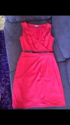 H&M Kleid Etuikleid Gr 38 rot