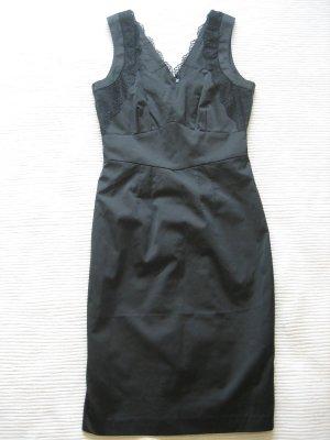 H&M kleid etuikleid klassiker spitze neu gr. 34 xs