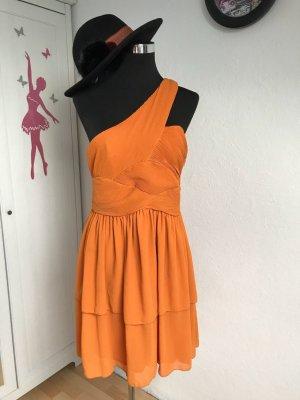 H&M Babydoll-jurk donker oranje