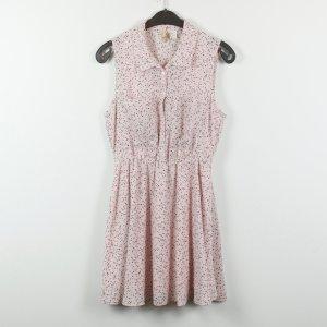 H&M Kleid Gr. 38 rosa Sternenmuster (19/02/284)